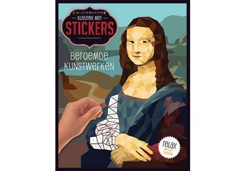 De Lantaarn Kleuren met stickers-Beroemde kunstwerken