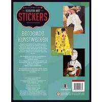 Kleuren met stickers-Beroemde kunstwerken