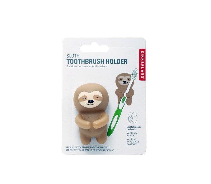 Luiaard tandenborstelhouder