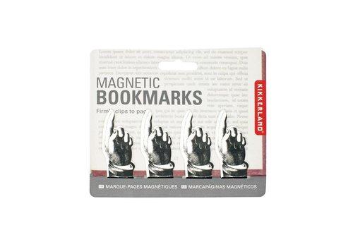 Kikkerland Magnetische boekenleggers vingers