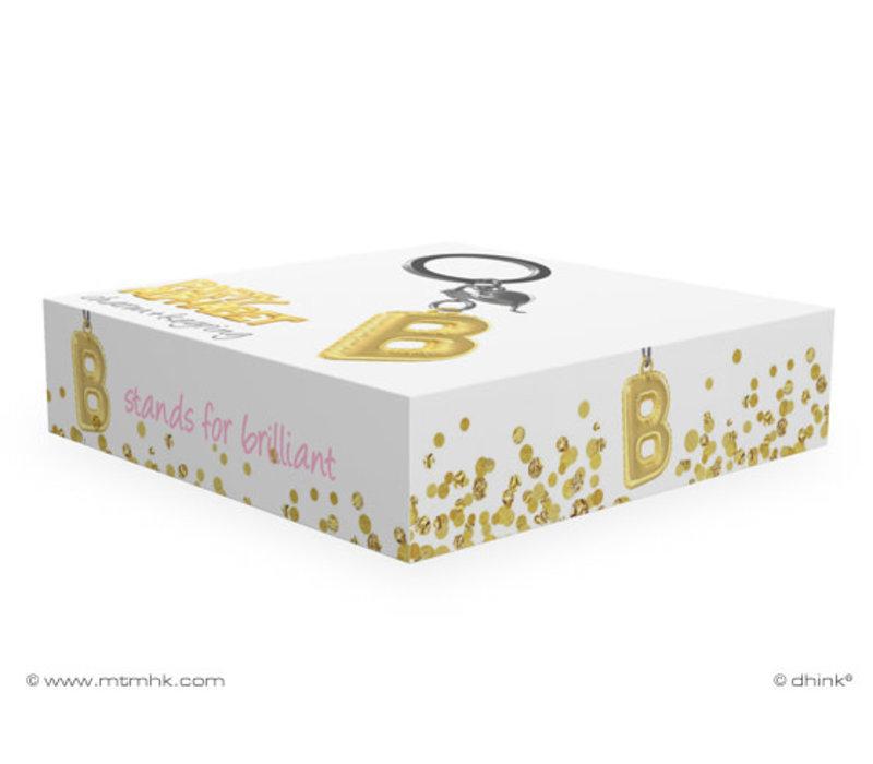 Sleutelhanger Ballonletter B