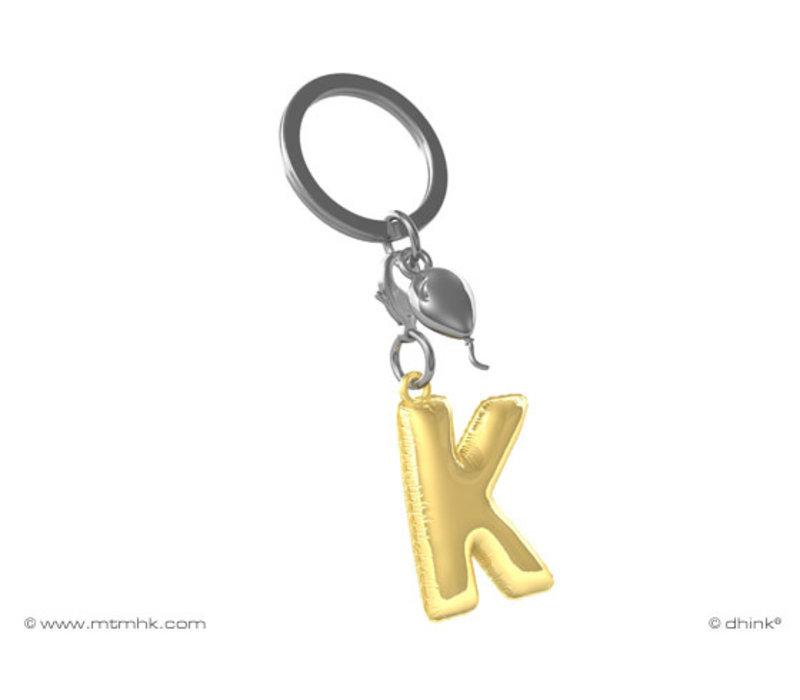Sleutelhanger Ballonletter K