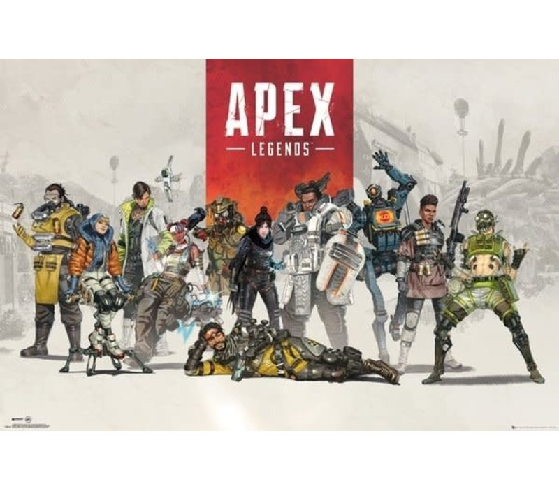 Poster 60 |  Apex legends group