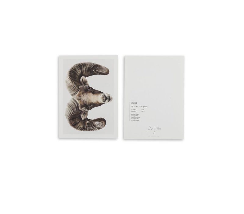 Aries (ram) artcard
