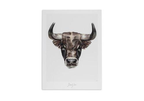 Malou Kalay Taurus (stier)  artcard