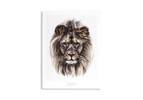 Malou Kalay Leo (leeuw) artcard