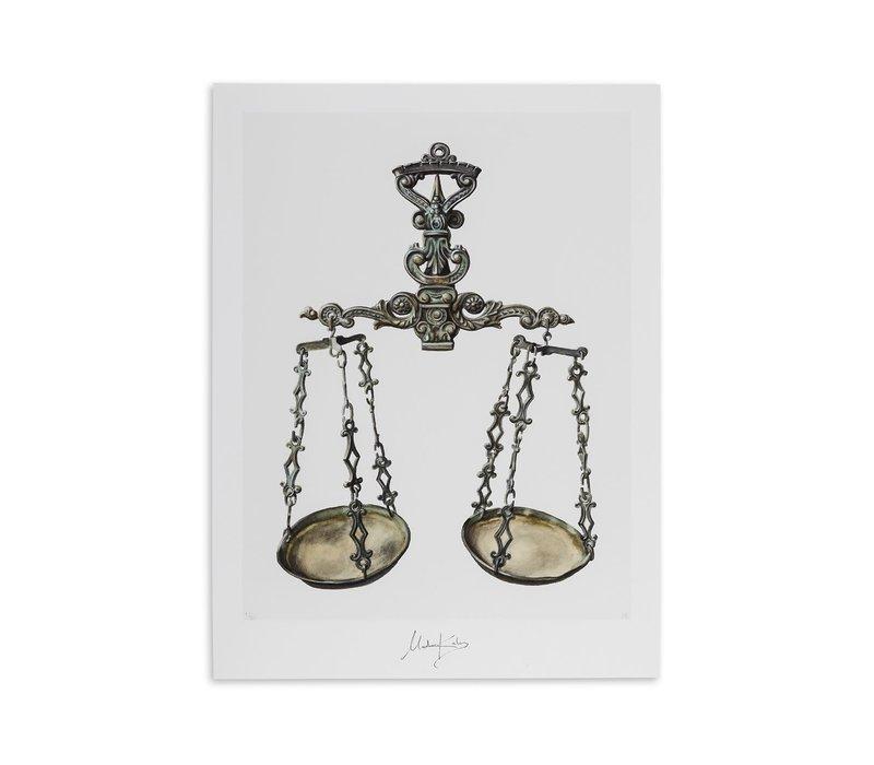 Libra (weegschaal) artcard