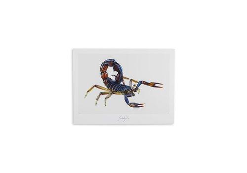 Malou Kalay Scorpio (schorpioen) artcard