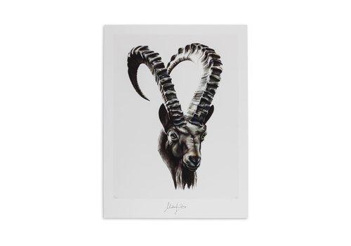 Malou Kalay Capricorn (steenbok) artcard