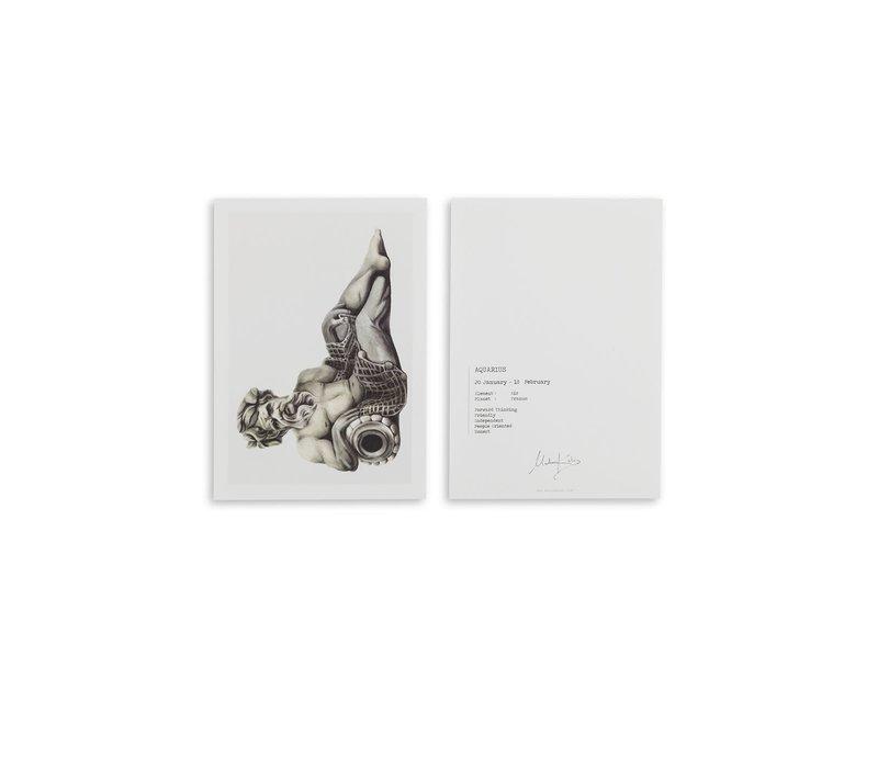 Aquarius (waterman) artcard