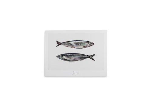 Malou Kalay Pisces (vissen) artcard