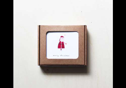 Kerstkaarten box Klein Liefs