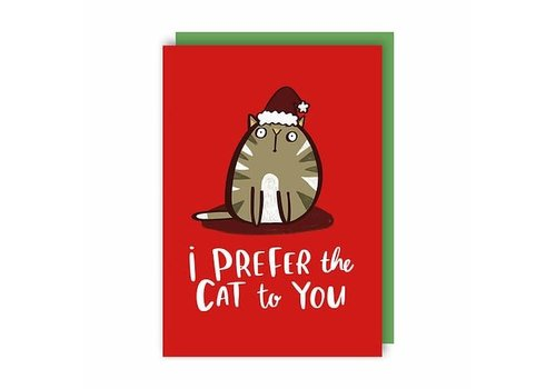 Lucy Maggie Designs Prefer the Cat Christmas