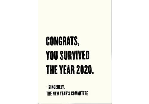 Kaart Blanche Survived 2020