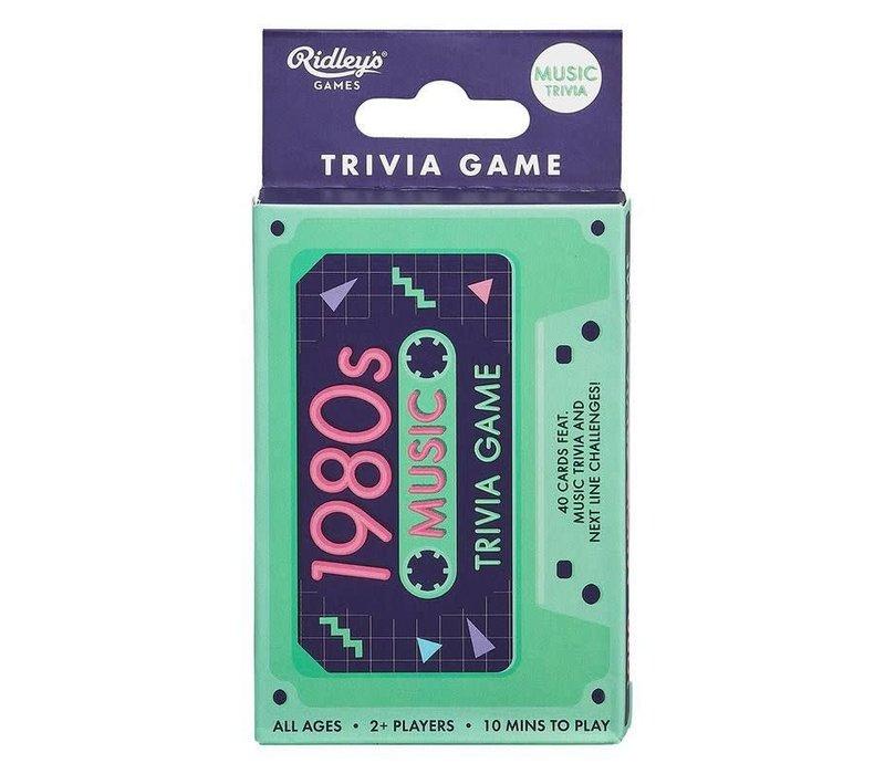 1980s Trivia Tape Quiz