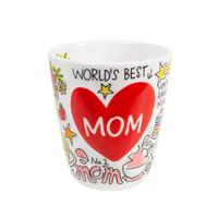 Mom mok 3D Hart