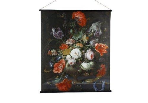Werner Voss Wandkleed Kakemono flowers