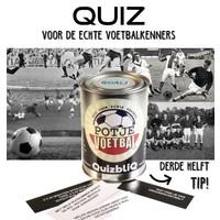 QuizbliQ Potje Voetbal Kwisblik Met Voetbalvragen
