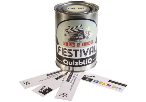Kletspot QuizbliQ Festival | Kwisblik Met Film- en Muziekvragen