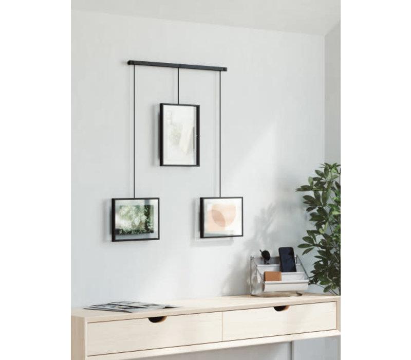 Exhibit - Fotolijstenset van 3 Zwart
