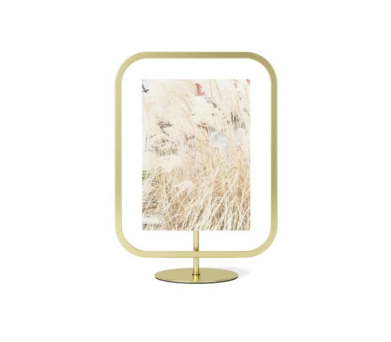 Infinity- rechthoekige fotolijst 13x18 cm  goud