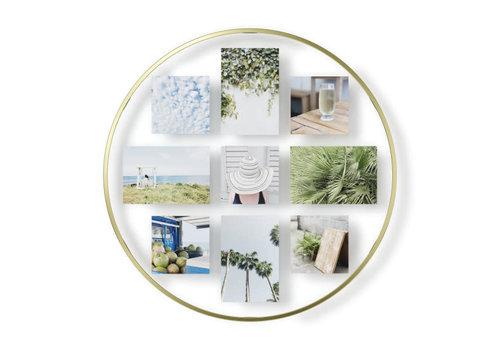 Infinity- collage fotolijst mat koper