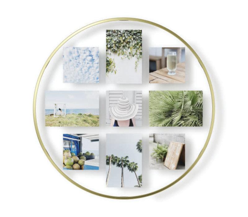 Infinity -collagelijst fotolijst mat koper
