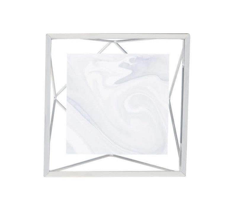 Prisma- fotolijst 10x10cm chroom