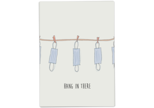 Kaart Blanche Hang in there (laundry)