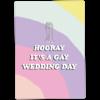 Kaart Blanche Gay wedding - vrouw