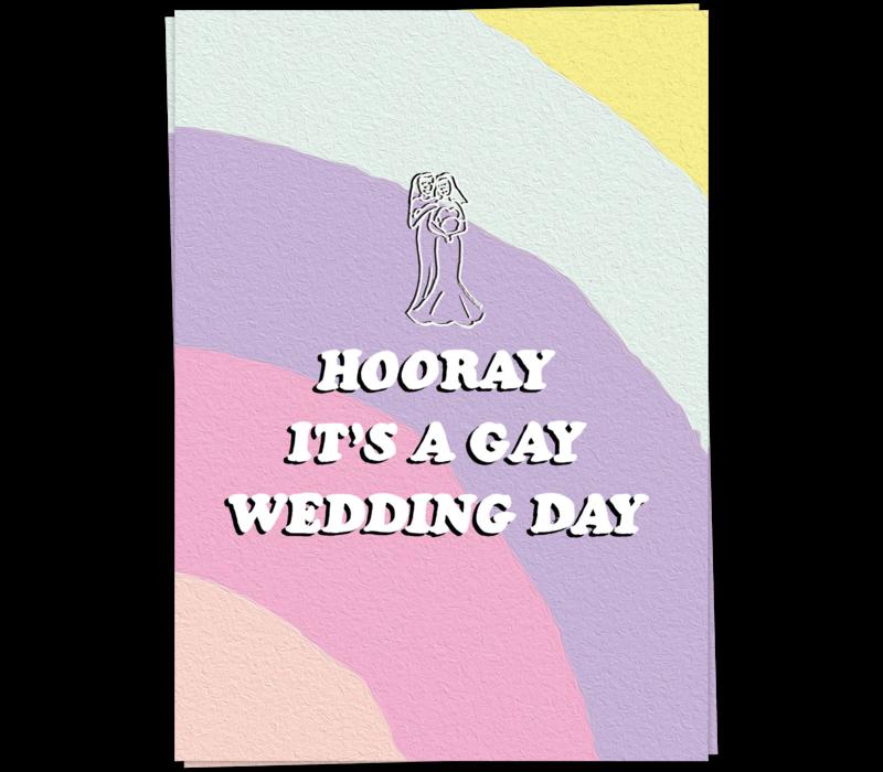 Gay wedding - vrouw