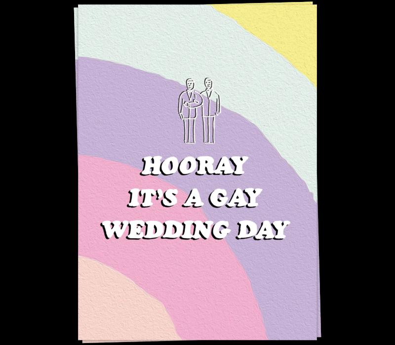 Gay Wedding  -  man