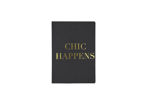 MAP A5 Notebook -Chic Happens