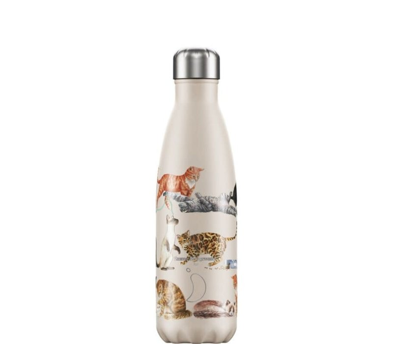 Chilly's thermosfles 500ml Cats