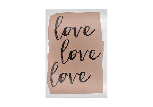 MAP Schrift - Love, Love, Love