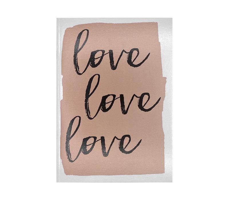 Schrift - Love, Love, Love