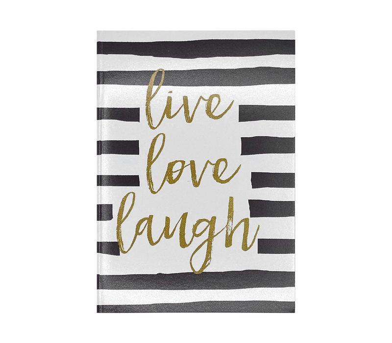 Schrift - Live Love Laugh