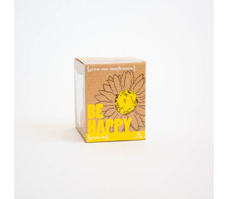 Grow Me - Be Happy - Plantje