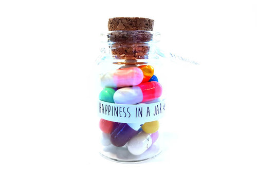 By Caitlin Happiness in a jar