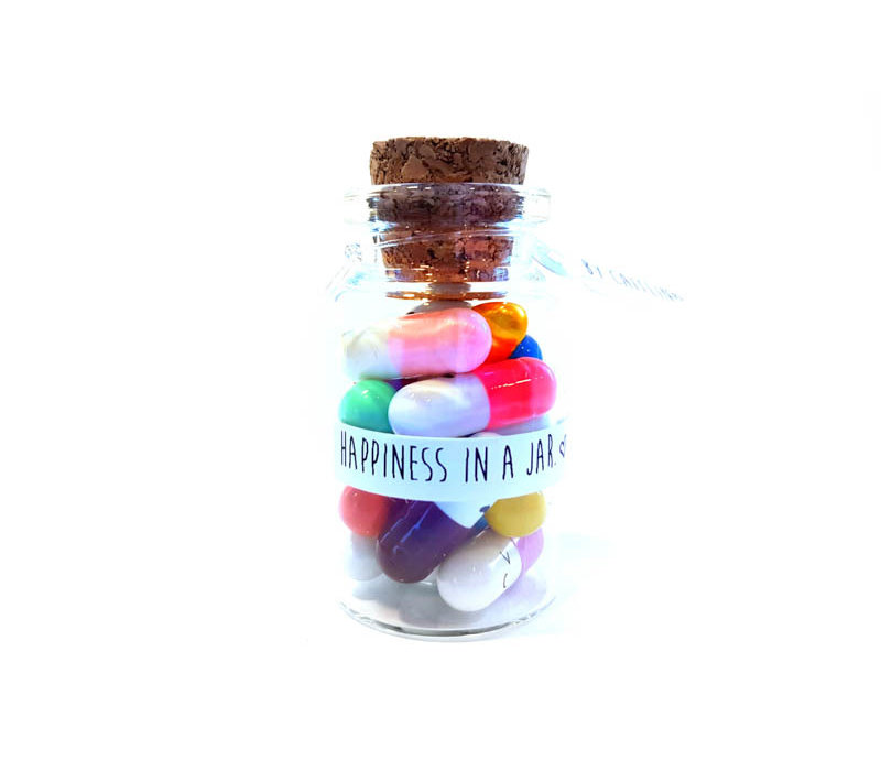 Happiness in a jar