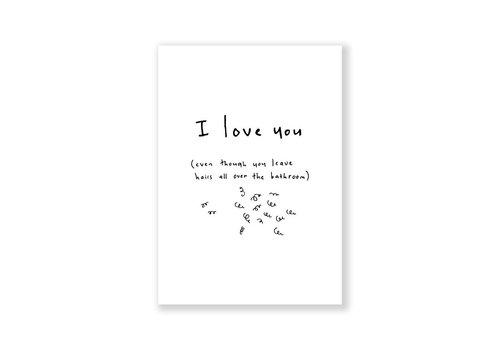 Eatmielies Kaart - I love you