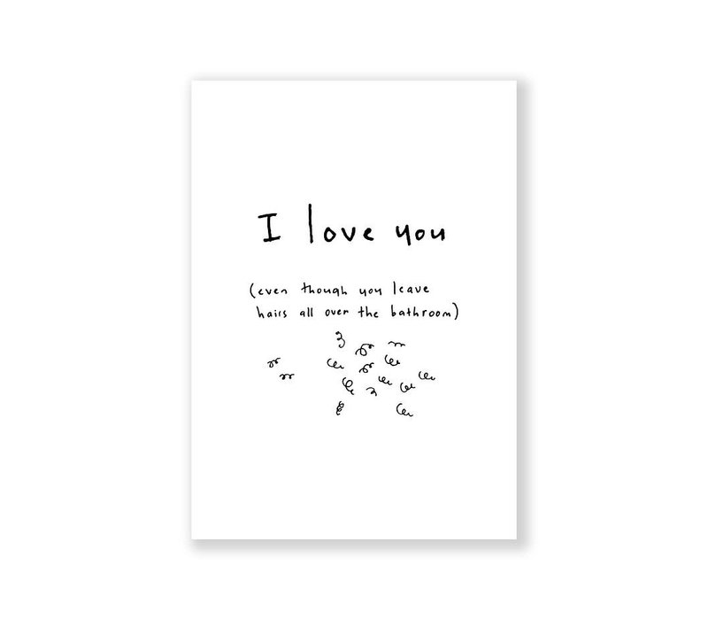 Kaart - I love you
