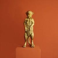 Decoratie- Meerkat goudkleurig