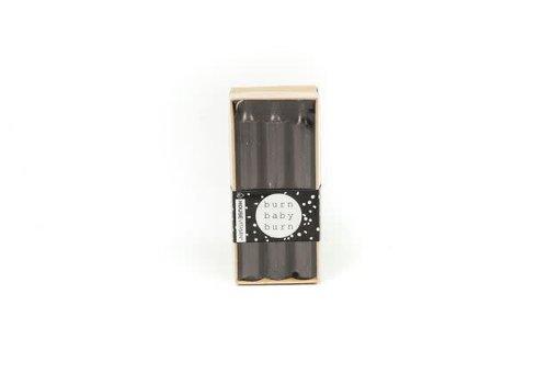 Housevitamin Kaarsen 6 stuks zwart