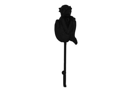 Housevitamin Wandhaak aap zwart