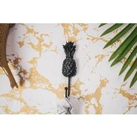 Wandhaak Ananas - Zwart