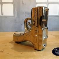 Kandelaar Gun - Goud