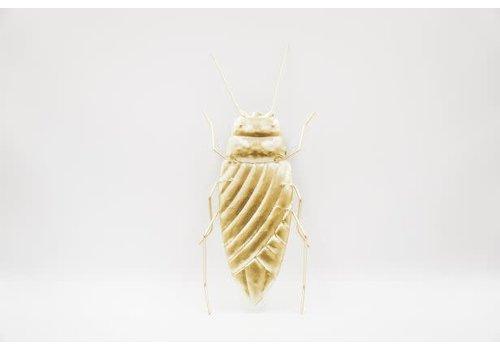 Housevitamin Insect - goudkleurig metaal
