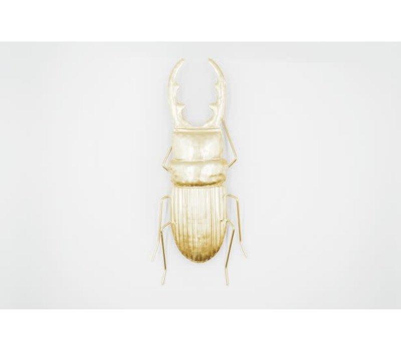 Insect Vliegend Hert Goudkleurig Metaal