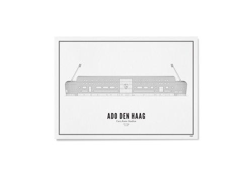Wijck Poster A4 - Stadion ADO Den Haag